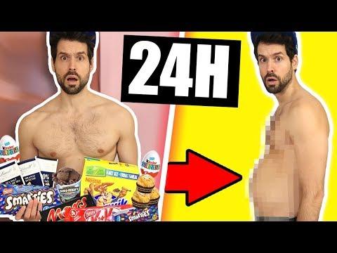 JE MANGE QUE DU CHOCOLAT PENDANT 24H ET... - HUBY