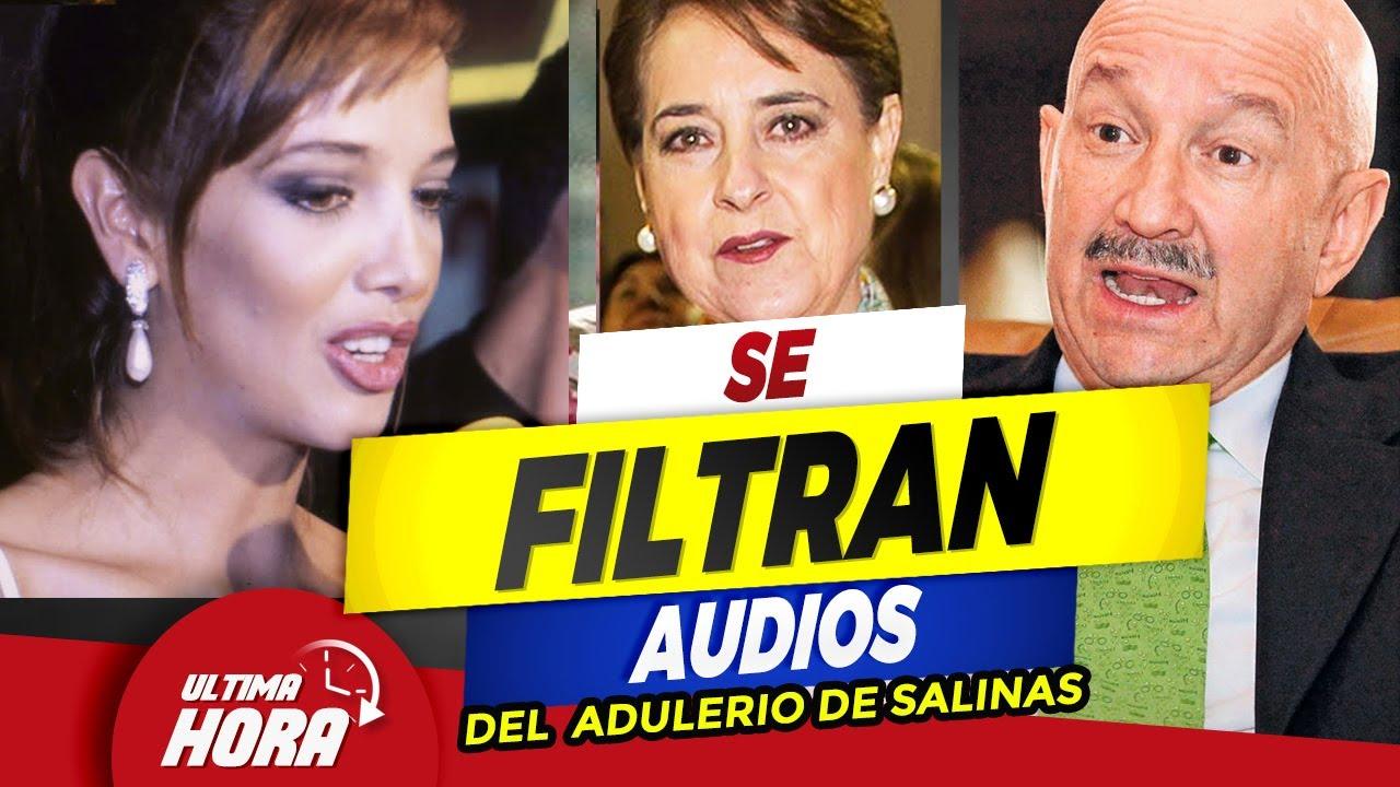 🔥 𝗣𝗥𝗢𝗦𝗧𝗜**𝗧𝗔.. Se Filtran 𝗔𝗨𝗗𝗜𝗢𝗦 Entre La Esposa de Carlos Salinas y Adela Noriega 😱⛔
