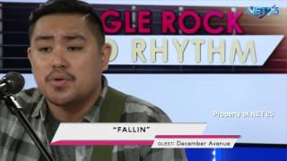DECEMBER AVENUE NET25 LETTERS AND MUSIC Guesting - EAGLE ROCK AND RHYTHM