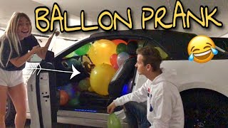 Komplettes Auto voll mit BALLONS  Ich PRANKE Julian  | BibisBeautyPalace