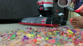 Bissell vs New Crunch FT. Vacuum Test Challenge