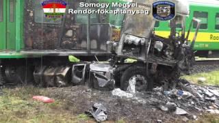 Halálos vasúti baleset Barcson