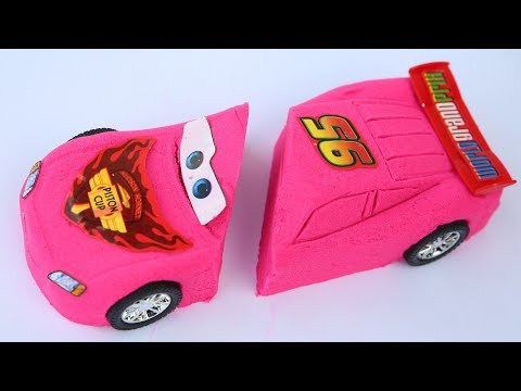Thumbnail: DIY Colors Kinetic Sand New Cars Movies Lighning Mcqueen Disney Pixar Kinetic Sand