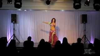 LiDiA Pleiada The Belly Dance Queen of NYCairo Raks Festival 2014