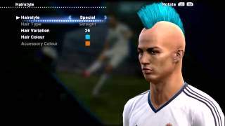Cristiano Ronaldo New Hairstyle Special PES 2013 █▬█D 720p