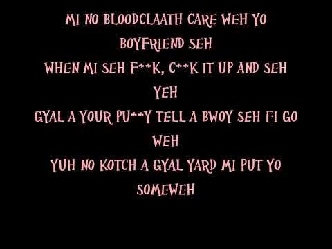 Vybz Kartel - Pussy Me Seh Lyrics [Sep 2013]