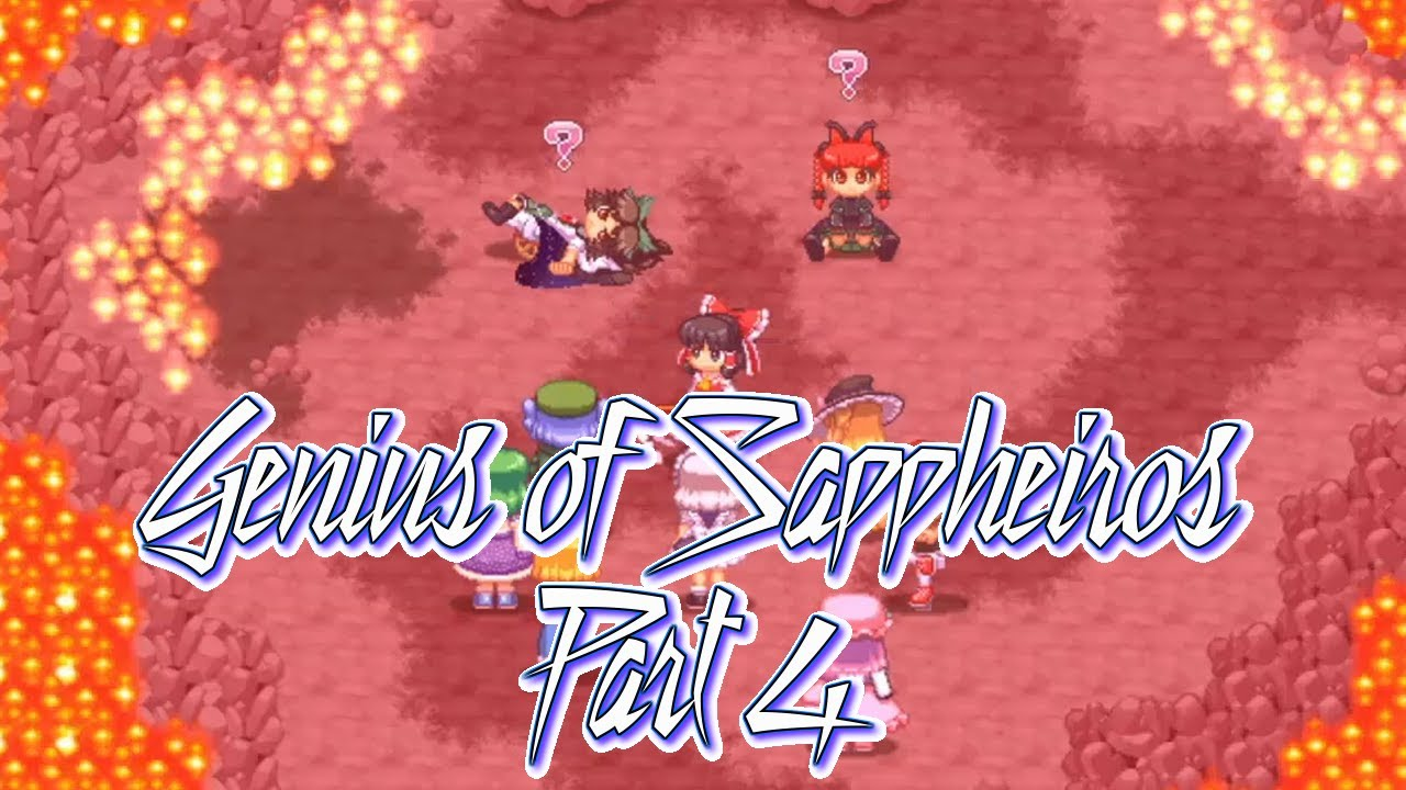 EVERYONE'S BULLYING PATCHY: Let's Play Touhou Soujinengi ~ The Genius of Sappheiros Part 4
