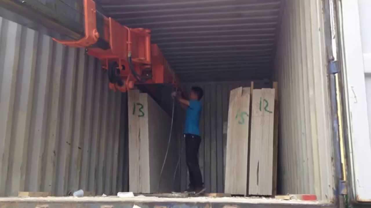 Telehandler Working Video Telehandler For Unloading Marble