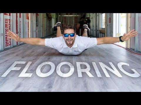 SHIPPING CONTAINER Vinyl Floor Install in 5 MINUTES | Episode 5