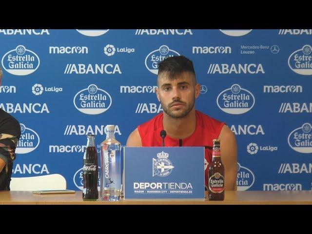 Rueda de prensa Carles Gil. 19.07.2018