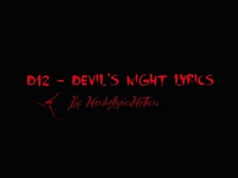 D12 - Devil's Night Lyrics (HD)