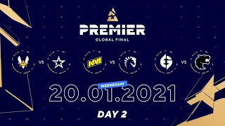 Vitality vs Complexity, NaVi vs Team Liquid, EG vs Furia | BLAST Premier Global Final Day 2