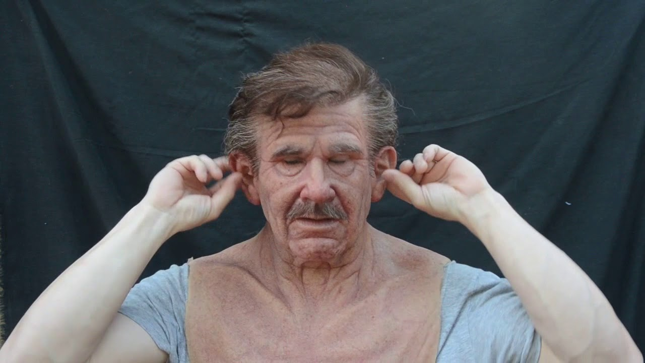 The Old Man Silicone Mask By Metamorphose Masks Making And
