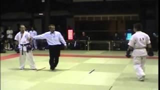 2004年 新空手 関西交流試合 聖空会 山本弘二(準決勝)