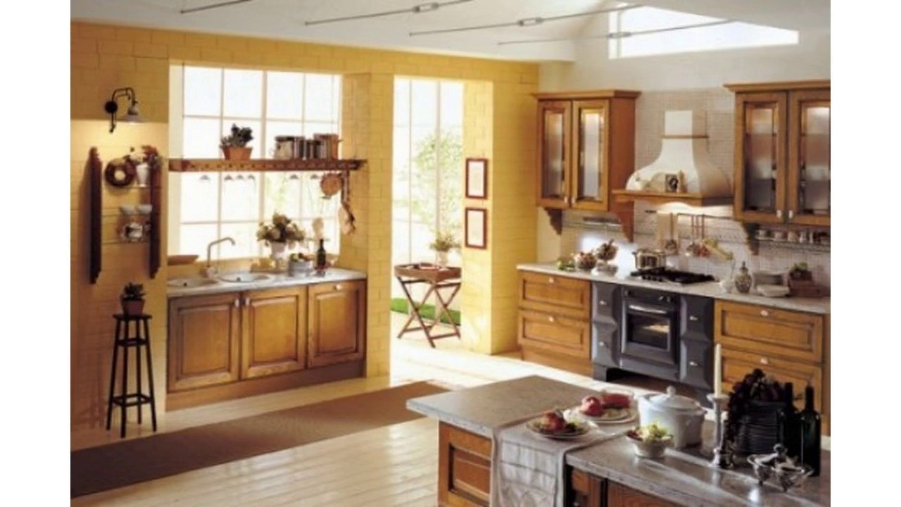 Ideas para decorar paredes de cocina - YouTube