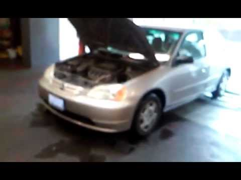 Honda Civic Emissions EVAP canister and EGR location  YouTube