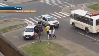 Пьяные студенты избивают охранников Томск