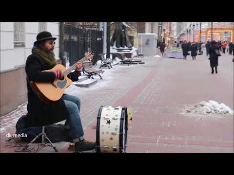 AMAZING STREET ROCKING BY RAMAD AT ARAB STREET MASCOW RUSSIA