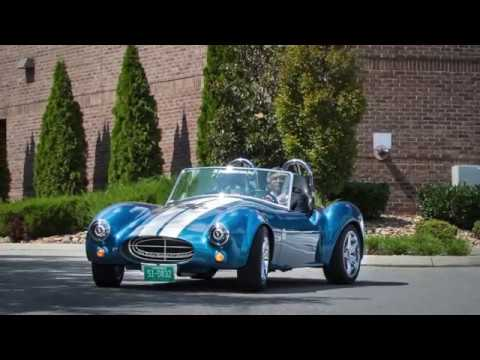 ORNL's new lab director takes a spin in the 3D-printed Shelby Cobra