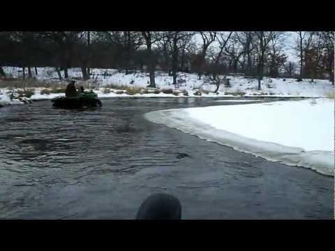 atv mudding with h&h motorsports winter water run 5