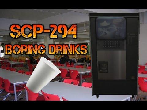 scp drink machine