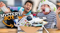 2 IDIOTEN packen AMAZON MYSTERY BOX aus! mit @Joey's Jungle  | Dillan White