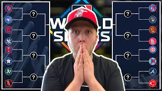 PREDICTING 2020 MLB PLAYOFFS & WORLD SERIES WINNER