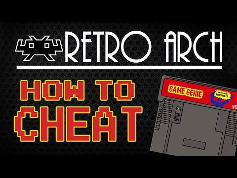 How To Use Cheats With Retroarch Snes Genesis Etc
