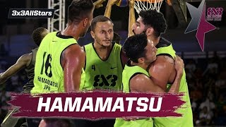 Hamamatsu - The multicultural 3x3 Team - 2016 FIBA 3x3 All Stars