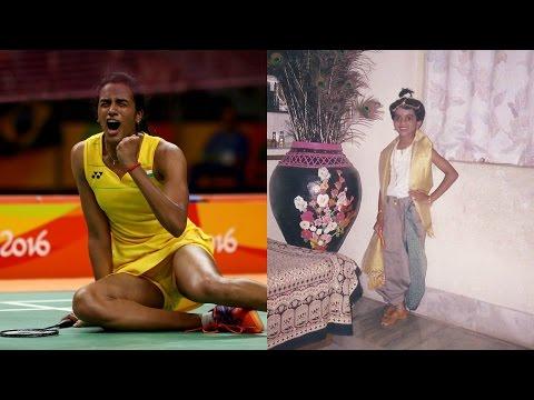 Flashback: Indian Badminton Player PV Sindhu Childhood