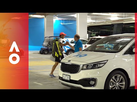 Meet Rafael Nadal's driver | Australian Open 2018