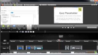 Building an E-Learning Course with Camtasia Studio 8: Creating Quizzes | packtpub.com