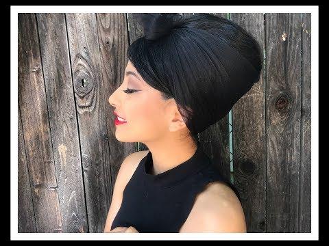 Beehive Hairstyle | Miss Miriam