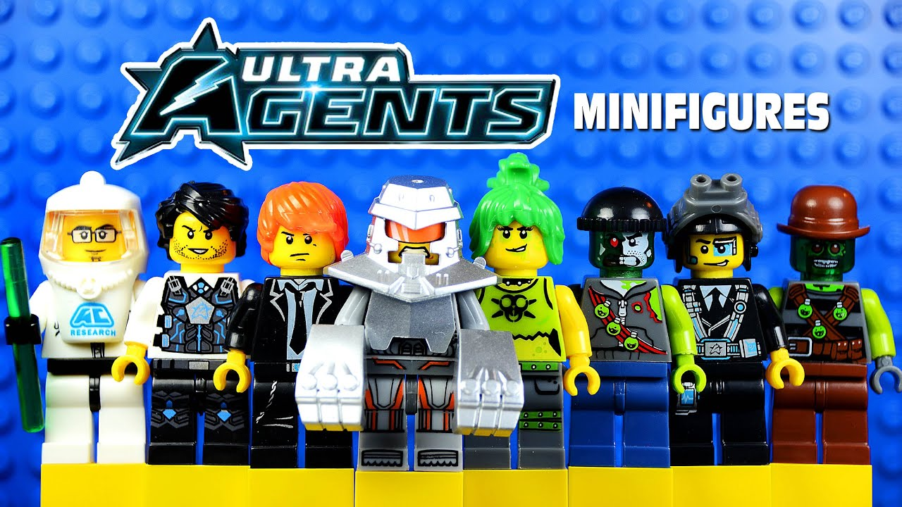 Lego Ultra Agents Jack Fury Lego Ultra Agents Knockoff