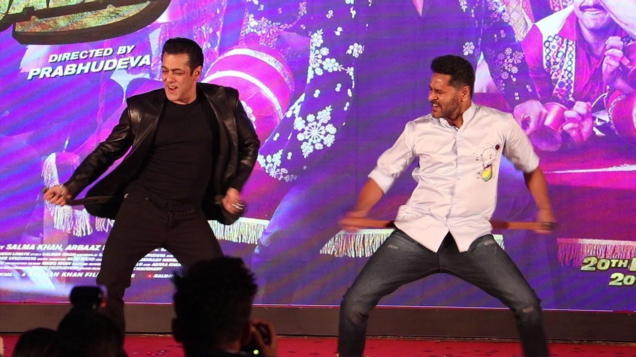 Munna Badnaam Hua Official Song Launch | Salman Khan, Prabhudeva, Warina Hussain | Dabangg 3
