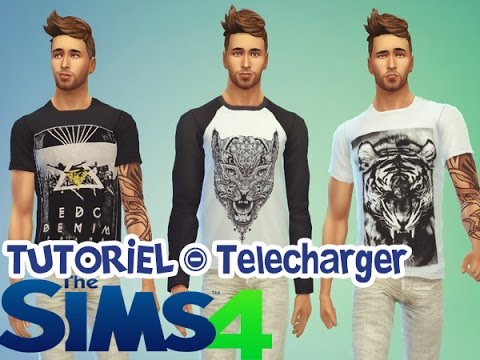 Coiffures de mode sims 4 hommes
