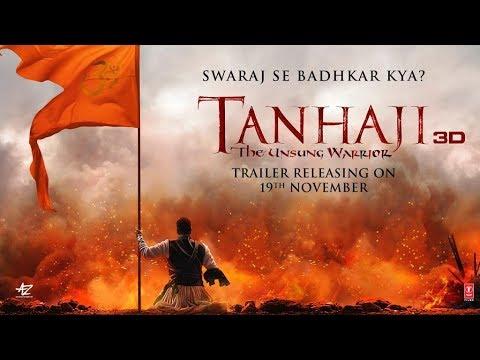 tanhaji--the-unsung-warrior- -swaraj-se-badhkar-kya?- -trailer-out-on-►19-november