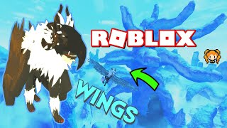 ROBLOX FELINE'S DESTINY WINGS + How to Fly! Tiger with Masks and New World Found!