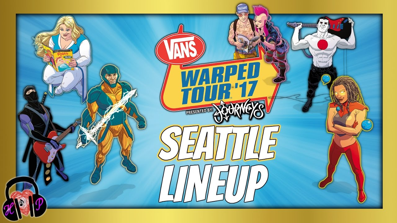 e7f85063e0 VANS WARPED TOUR 2017 SEATTLE