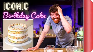 A Chef Tries to Bake This ICONIC Cake | Momofuku Milk Bar Birthday Cake