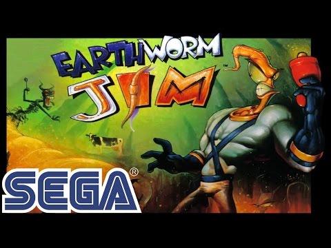 Earthworm Jim (Червяк Джим) прохождение SEGA Mega Drive (Genesis) [003]