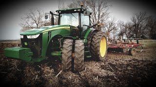 Chisel Plowing Ahead Of A Rain Storm ⛈