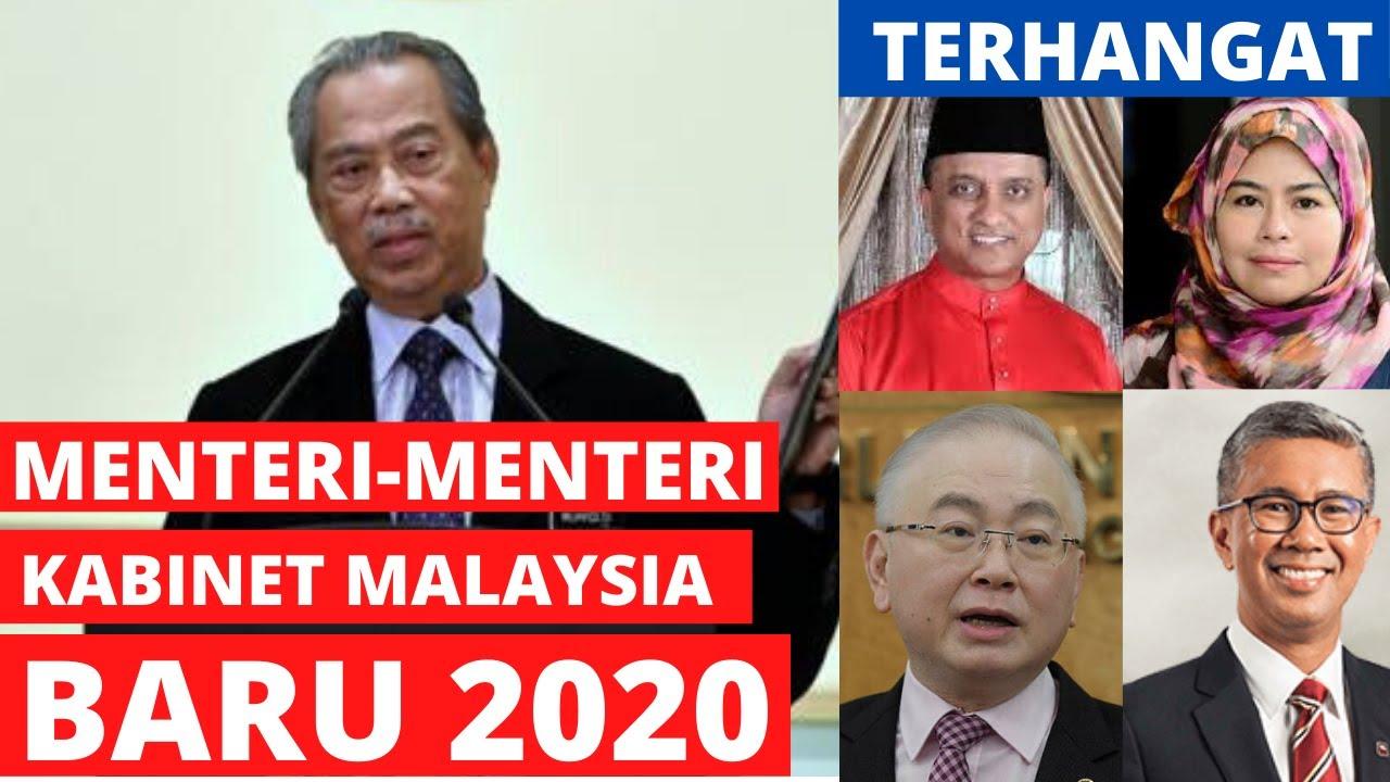 Terkini Senarai Penuh Menteri Kabinet Malaysia Baru 2020 Youtube