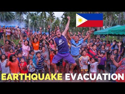 FILIPINO EVACUATION CAMP   Philippines Earthquake   Davao And Cotabato