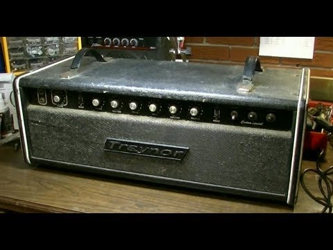 Modded Bass Amp from Canada Becomes GUITAR AMP FROM HELL! - Traynor YBA3