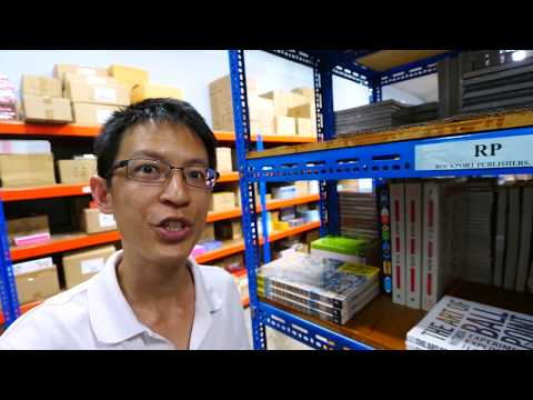 Visiting a Warehouse of Books at APD Singapore's HQ