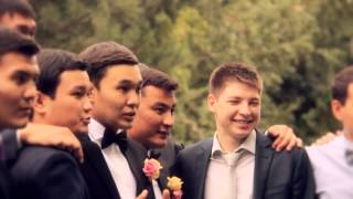 Красивая свадьба в Алматы. Супер пара Марат и Алима
