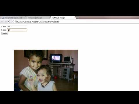 Moving Image In The Document:  Javascript ( A Small Fun Application )