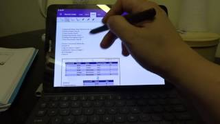 Samsung galaxy tab s3 - Onenote & casual use