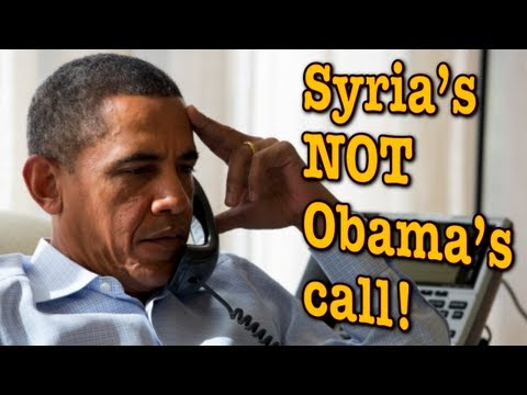 Obama Has No Authority to Attack Syria over Chemical Weapons, IT'S ILLEGAL